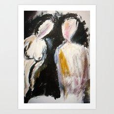 Expressionism Figure Study Art Print
