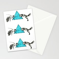 Headlock, wasp and fox Stationery Cards