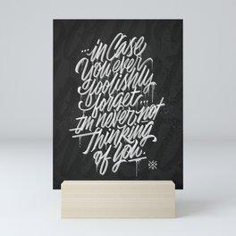 Foolish Mini Art Print