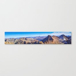 Wetterhorn Peak Panorama Canvas Print