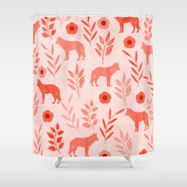 Forest Animal and Nature II Shower Curtain