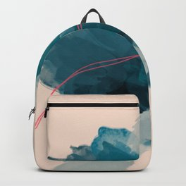 Abstract Lines In A Pool Backpack