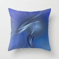 destiny Throw Pillows featuring Destiny by Christy Leigh