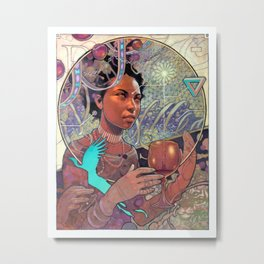 The Surveyor Metal Print