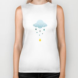 I love Rainy Days Biker Tank
