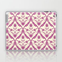 Rosa trellis ikat Laptop & iPad Skin