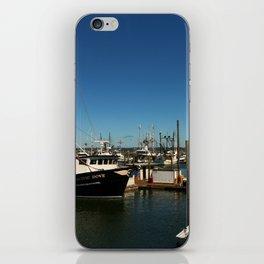 Westport Harbor Scene iPhone Skin