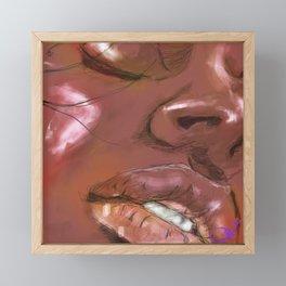Face the Music Framed Mini Art Print