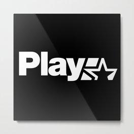 Play Metal Print