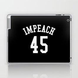 IMPEACH 45 (Black & White) Laptop & iPad Skin