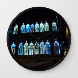 Blue Windows Wall Clock