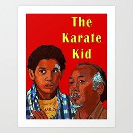 The Karate Kid Art Print
