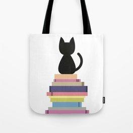 CatBook Tote Bag
