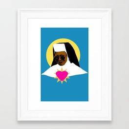 Sister Act - Virgin Delores Framed Art Print