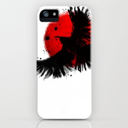 Black Crow iPhone Case