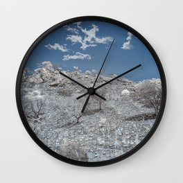 Backwoods Wilderness Wall Clock