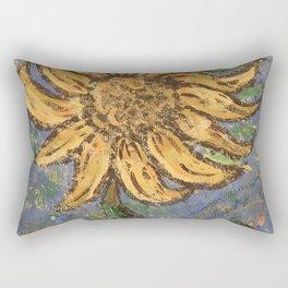 Dancing Sunflower Rectangular Pillow
