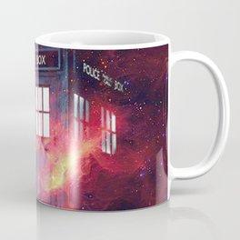 Tardis space galaxy nebula Coffee Mug