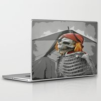 scary Laptop & iPad Skins featuring scary by mayrarosito