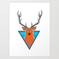 Proud Buck Art Print