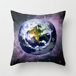We're all made of Space Stuff Throw Pillow