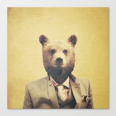 Humanimal: Bear Canvas Print