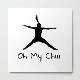 oh my chi Metal Print