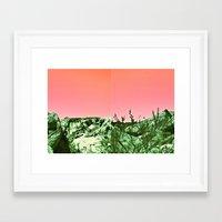 ezra koenig Framed Art Prints featuring ezra by WILDTROPHYCHILD