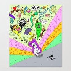 La última vez... Canvas Print