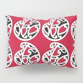 MAD HUE AOTEAROA Red Pillow Sham