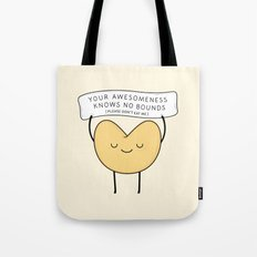 fortune cookie Tote Bag