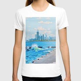 City on the Lake T-shirt