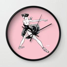 Black swan CoolNoodle Wall Clock
