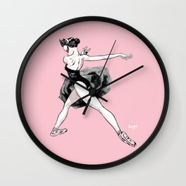 Black swan CoolNoodle Wall Clock