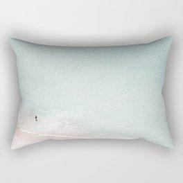 The Black Bikini Rectangular Pillow