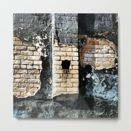 Hole In The Wall, Leaking Metal Print