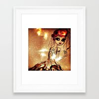 sassy Framed Art Prints featuring Sassy by Sanoe Watt