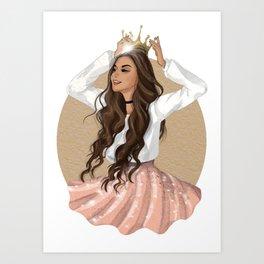 Slay Queen! Art Print