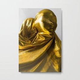Golden People Metal Print