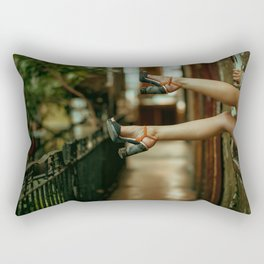 Sexy feets Rectangular Pillow