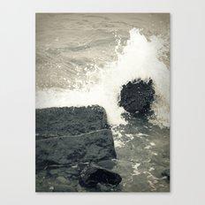 Crystal Waves 2 Canvas Print