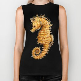 Sea horse, Horse of the seas, Seahorse beauty Biker Tank