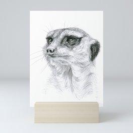 Meerkat G035 Mini Art Print