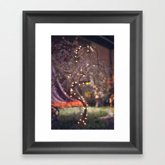 Queen's Tree Framed Art Print