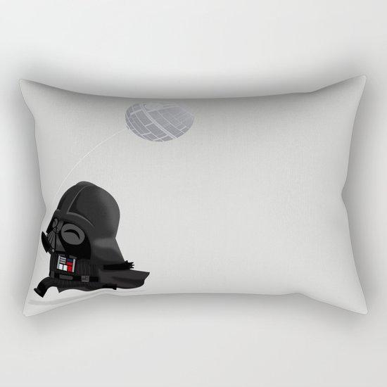 Beware, the Darth Star Rectangular Pillow