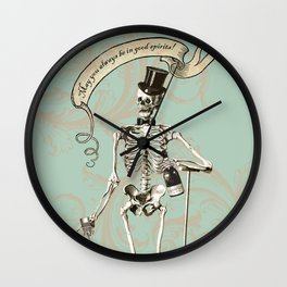 Good Spirits Wall Clock