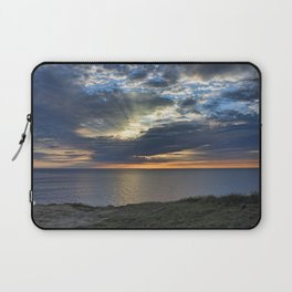 Sunsetting on Widemouth Bay Laptop Sleeve