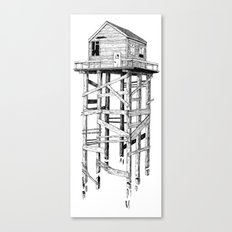 cabin fever Canvas Print