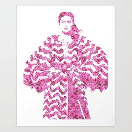 Chevron: Fashion Art Print