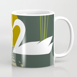 Swans at Sunset Coffee Mug